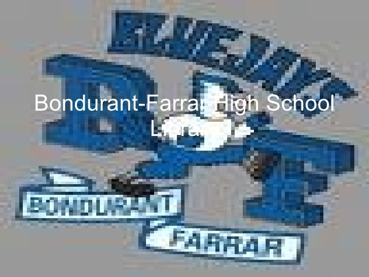 Bondurant-Farrar High School Library
