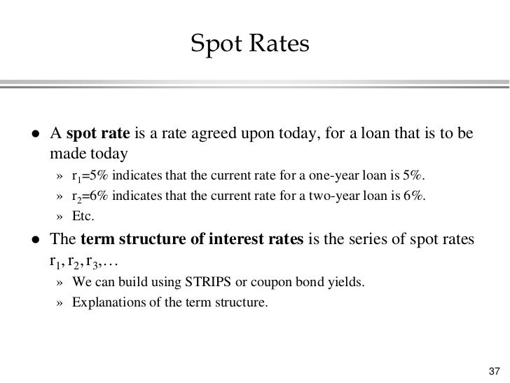 calculate spot rate coupon bond