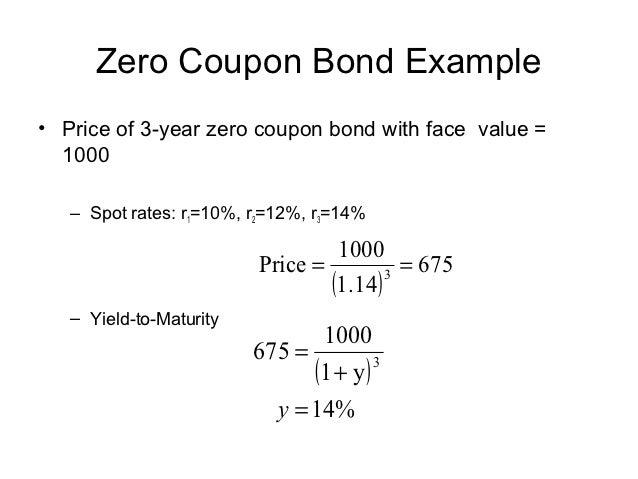 Bond valuation phd