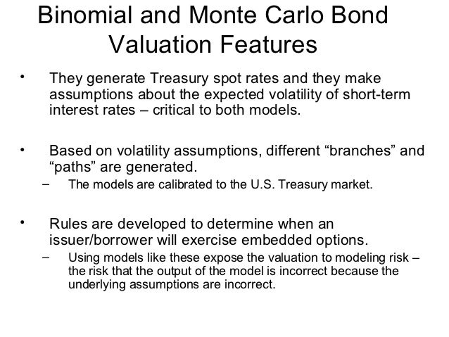 Value Bonds With Embedded Options 33