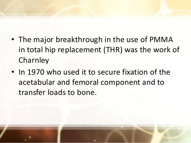 Bone cement.pptx 2 its science and cementing technique and safe surgical use Slide 3