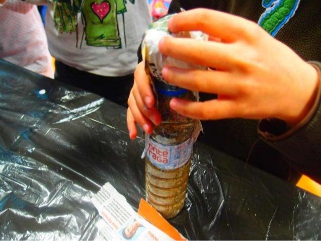 Bonecos com garrafas plástico