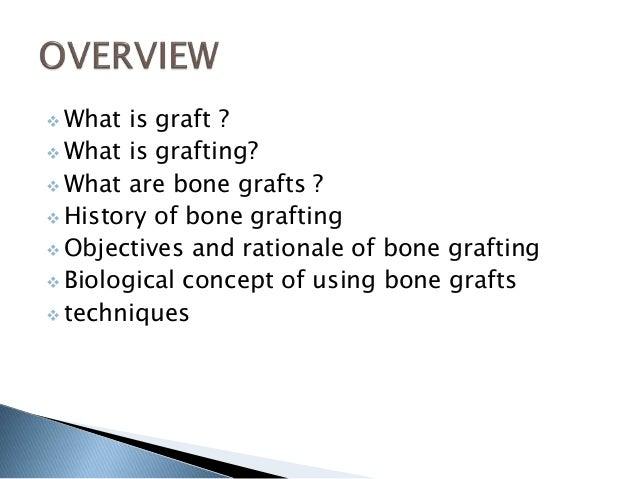 Bone grafting Slide 2