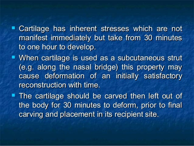  Cartilage has inherent stresses which are notCartilage has inherent stresses which are not manifest immediately but take...