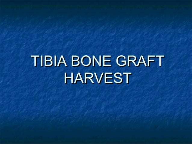 Principles and indicationsPrinciples and indications  The tibia graft is performed on skeletally matureThe tibia graft is...