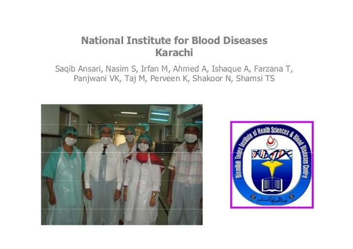 Bone Marrow Transplantation for Thalassemia in Lower ...