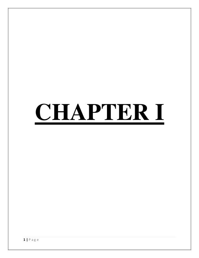 CHAPTER I1 Page