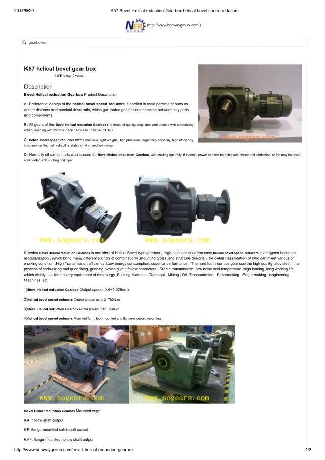 Bonfiglioli kf series precision right angle gearbox
