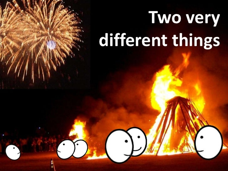 Two very different things<br />