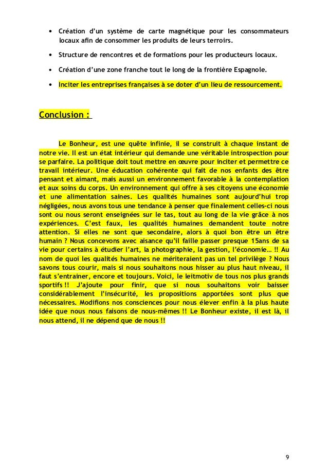 • Création d'un système de carte magnétique pour les consommateurs locaux afin de consommer les produits de leurs terroirs...