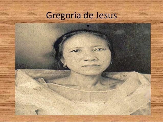 Gregoria de jesus