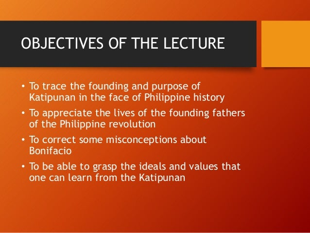 bonifacio and katipunan On august 23, 1896, the katipunan held a meeting in the house of juan a  ramos in pugad lawin in the course of the meeting, the attendees.
