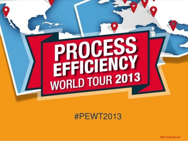 #PEWT2013 ©2013 Bonitasoft