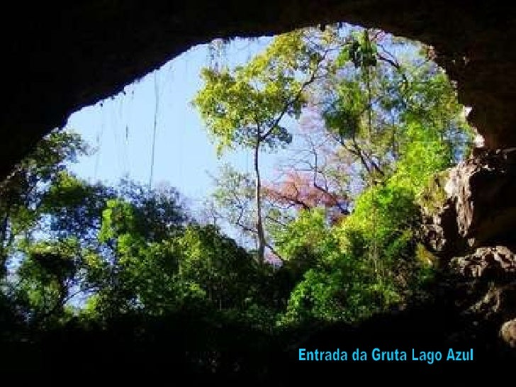 Entrada da Gruta Lago Azul