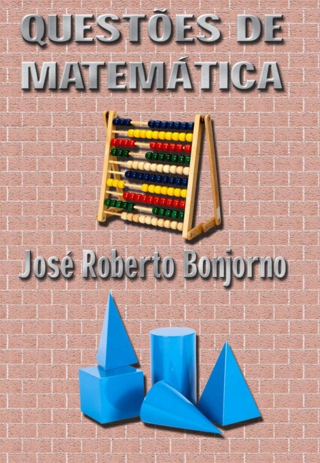 QUESTÕES DE MATEMÁTICA Este CD contém 302 questões de vestibulares sobre os seguintes conteúdos: Álgebra Geometria Porcent...