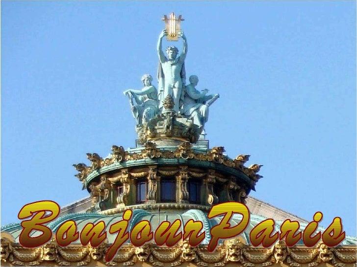 Bonjour Paris BonjourParis
