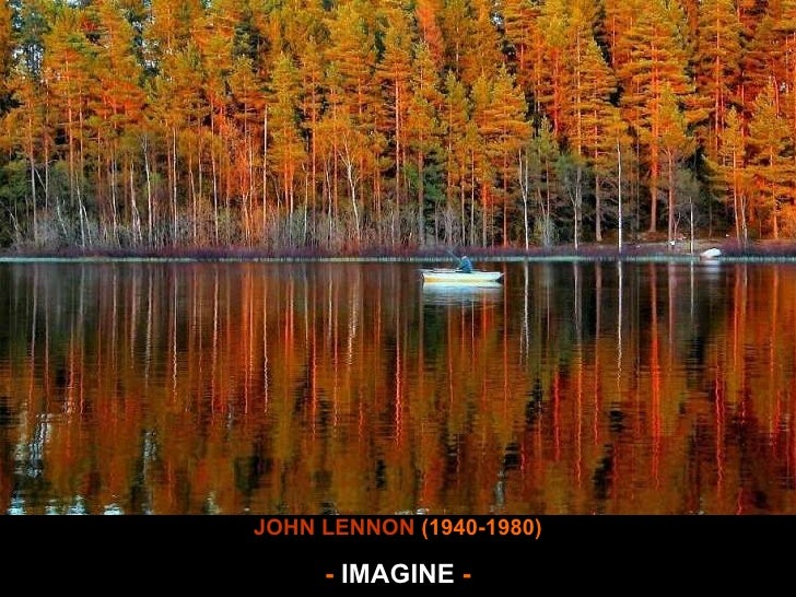 Imagine wave JOHN LENNON  (1940-1980) -  IMAGINE  -
