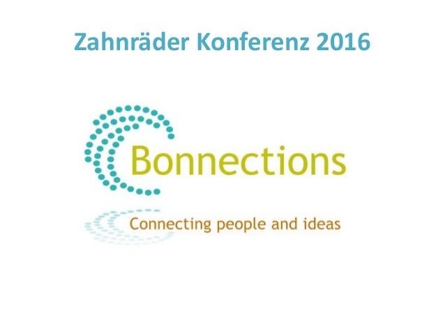 Zahnräder Konferenz 2016