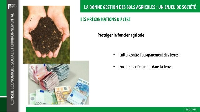 La bonne gestion des sols agricoles : un enjeu de société