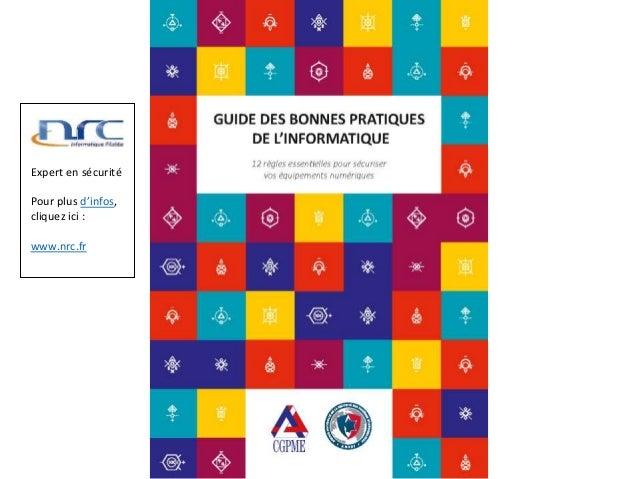 Expert en sécurité Pour plus d'infos, cliquez ici : www.nrc.fr