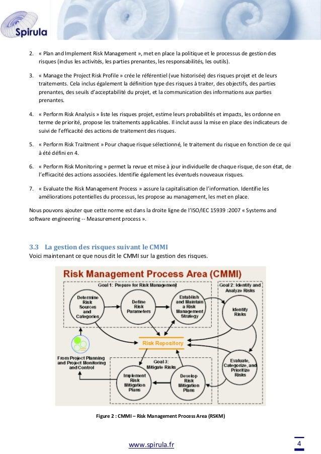 2. « Plan and Implement Risk Management », met en place la politique et le processus de gestion des risques (inclus les ac...