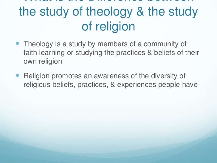 Essay differece between theology and religious studies