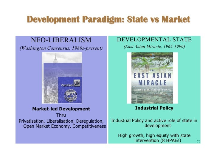 state led vs market led development