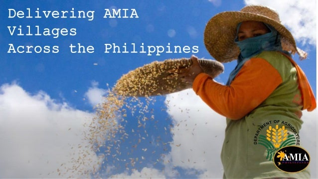 Delivering AMIA Villages Across the Philippines - NAP-Ag