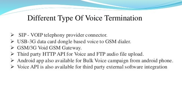 Bonrix Bulk voice call - Voice SMS Marketing Web Based Panel