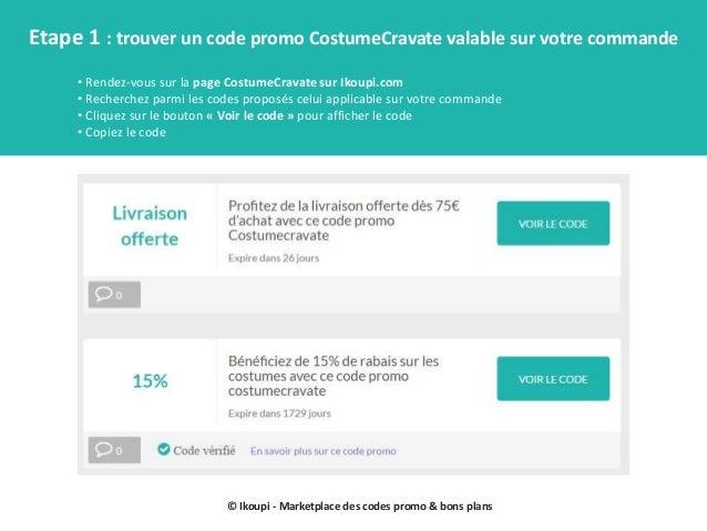 Bons de réduction costumecravate by ikoupi Slide 2