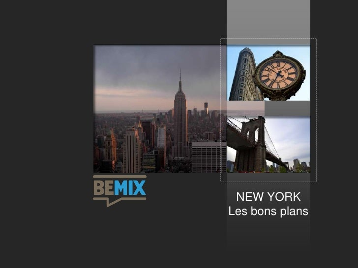 NEW YORKLes bons plans
