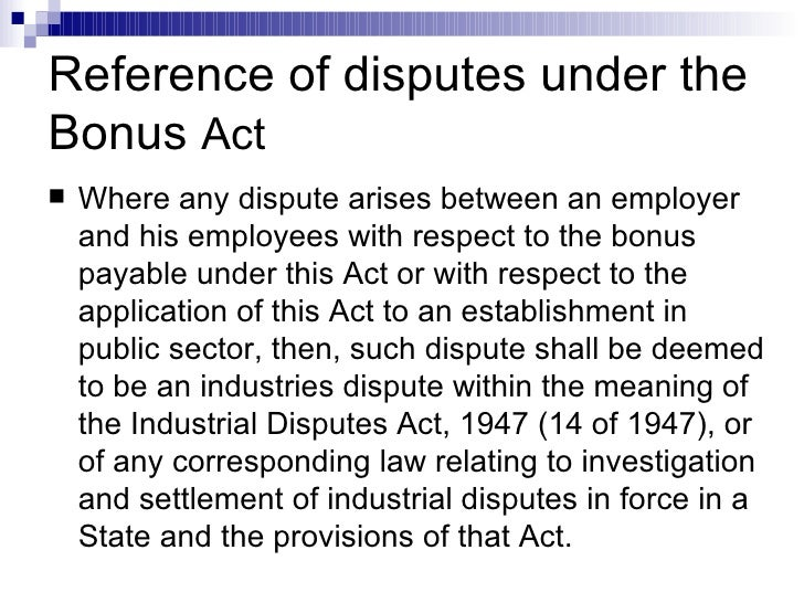 bonus act Home e-citizen act & rules the payment of bonus act information for citizen form for the payment of bonus act, 1965 form for the payment of bonus act, 1965.