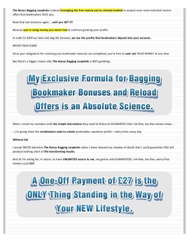 spread betting bonus bagging loophole