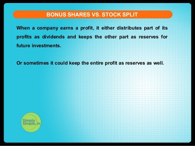 Stock Split Vs Bonus Share The Difference You Need To Know