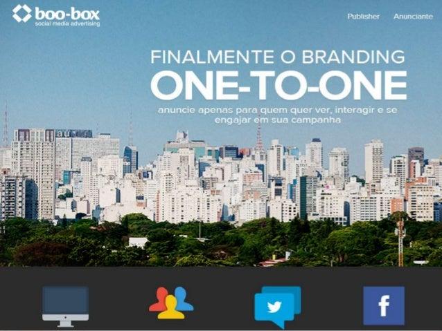 1. ESTRATÉGIA DE PRODUTO  O que é a boo-box?  A boo-box é a primeira empresa brasileira de tecnologia de publicidade e m...