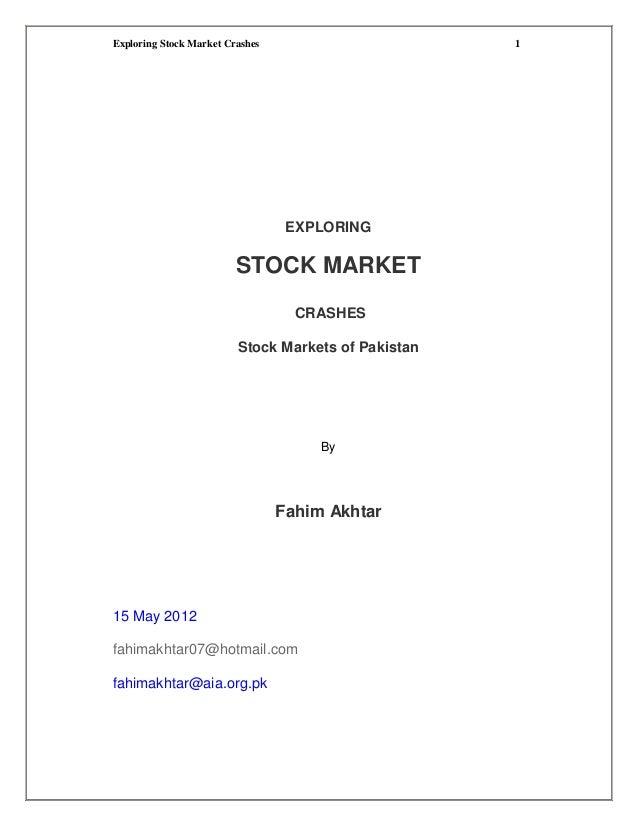 Exploring Stock Market Crashes                       1                                  EXPLORING                         ...