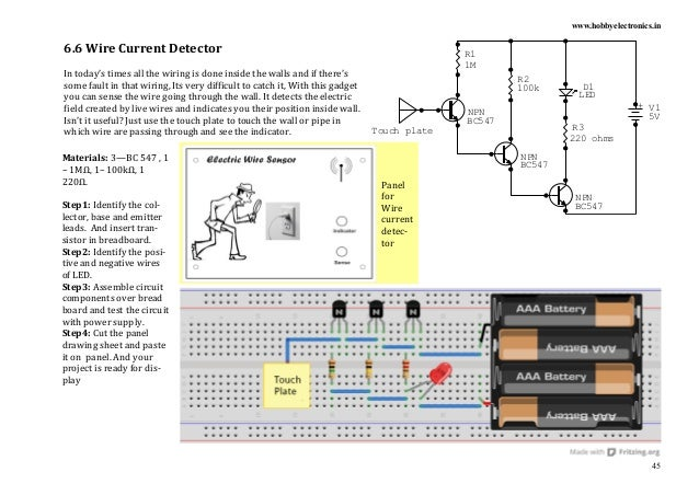 Fancy Electronics Project Book Pdf Festooning - Electrical Circuit ...
