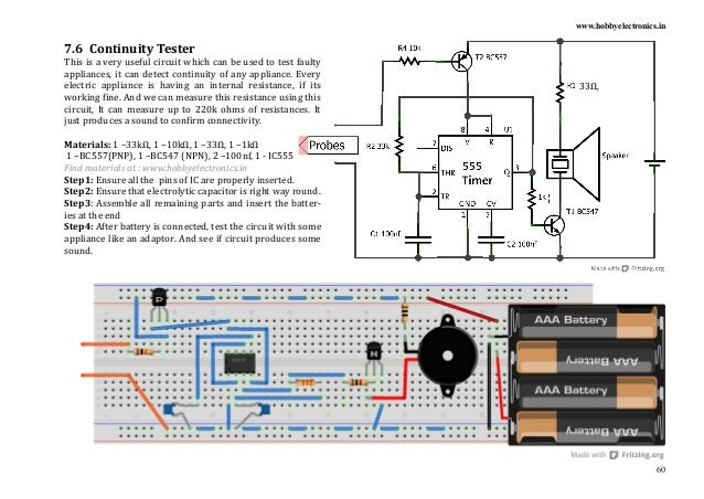 electronics project book rh slideshare net AC Circuit Diagram Light Bulb Circuit Diagram