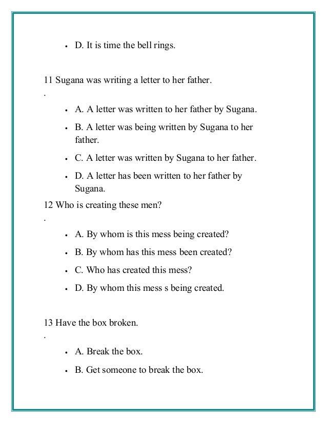 English Work Book