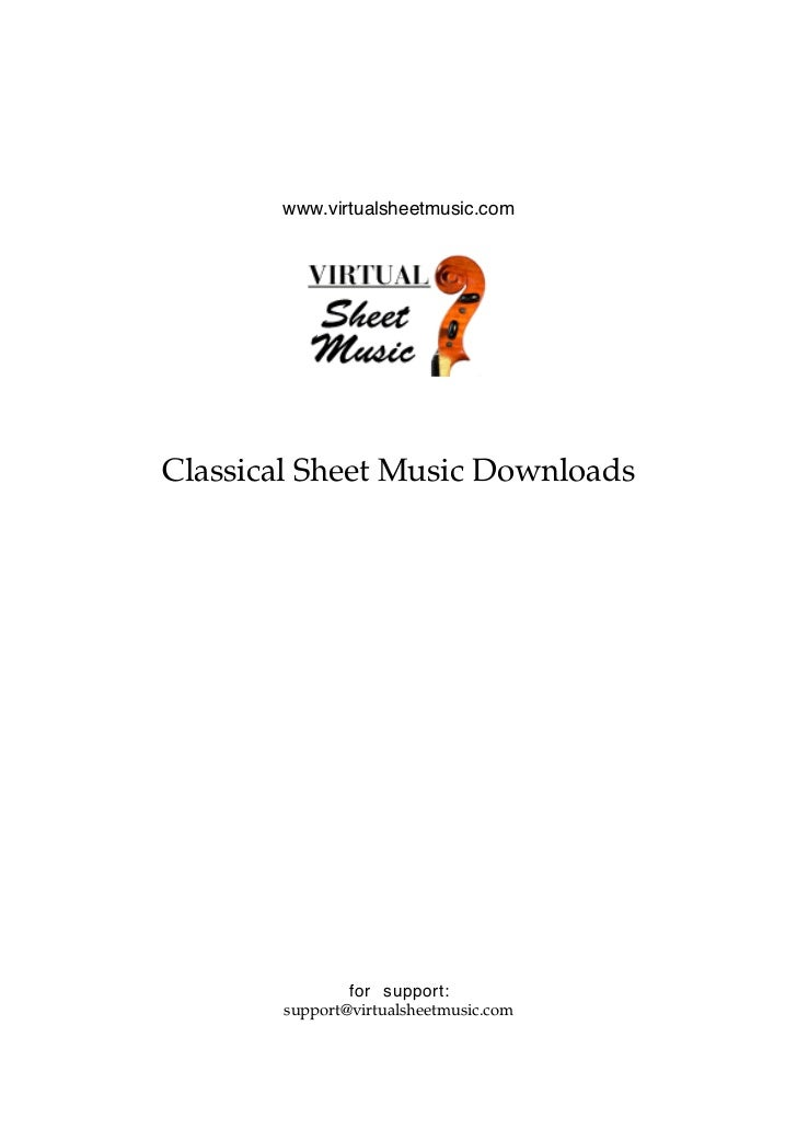 christmas scene 3 www virtualsheetmusic comclassical sheet music
