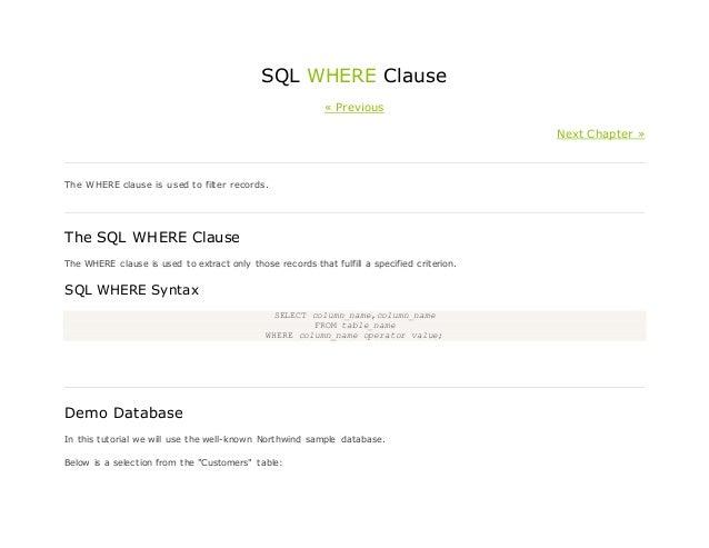 Book HH - SQL MATERIAL