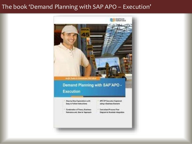 The book 'Demand Planning with SAP APO – Execution'