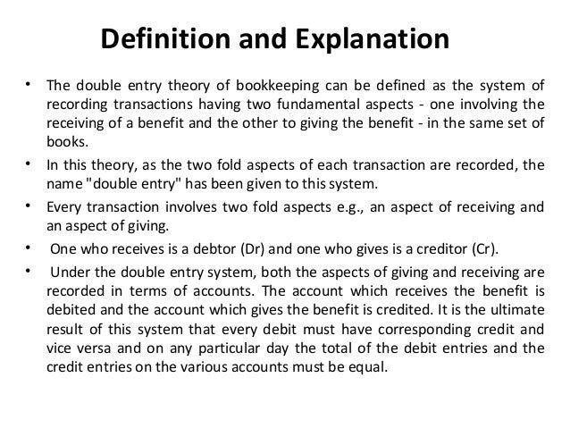 double entry system of accounting originated in 2018-3-22  the history of accounting or  the oldest discovered record of a complete double-entry system  the modern profession of the chartered accountant originated in.