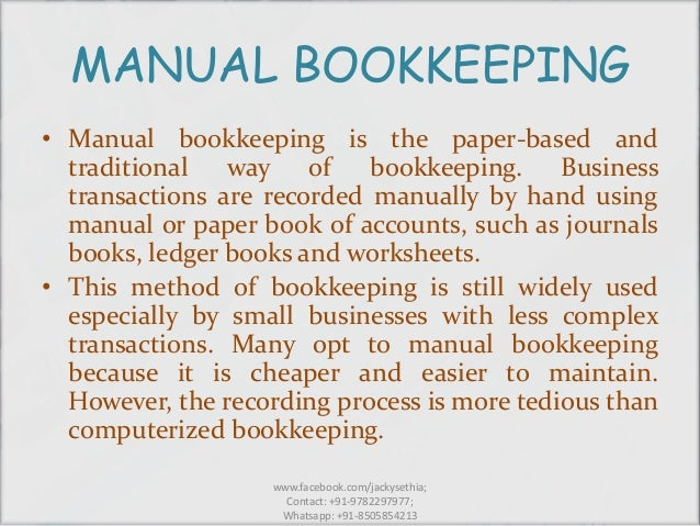 book keeping rh slideshare net in a manual bookkeeping system transactions are first recorded in a Basic Bookkeeping Ledger Form