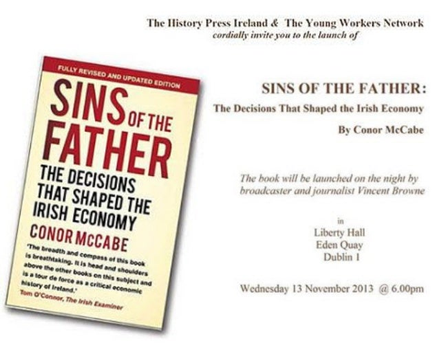 Conor McCabe Book Launch 13 Nov 2013