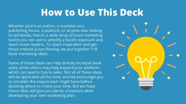 119 Book Marketing Ideas That Can Help Authors Increase Sales Slide 2
