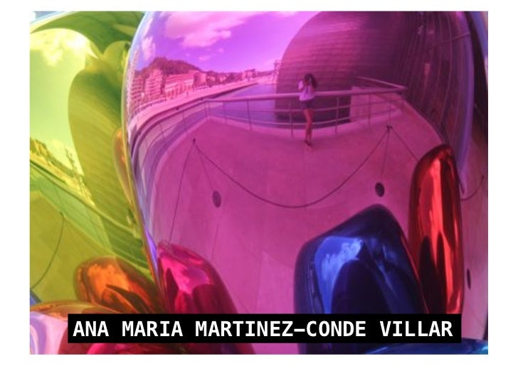 ANA MARIA MARTINEZ-CONDE VILLAR!