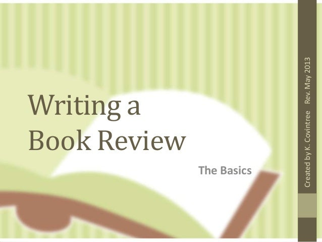 how do i write a book report Book reports are common assignments for students in elementary school through high school a well-written book report lets your teacher know that you read the book.