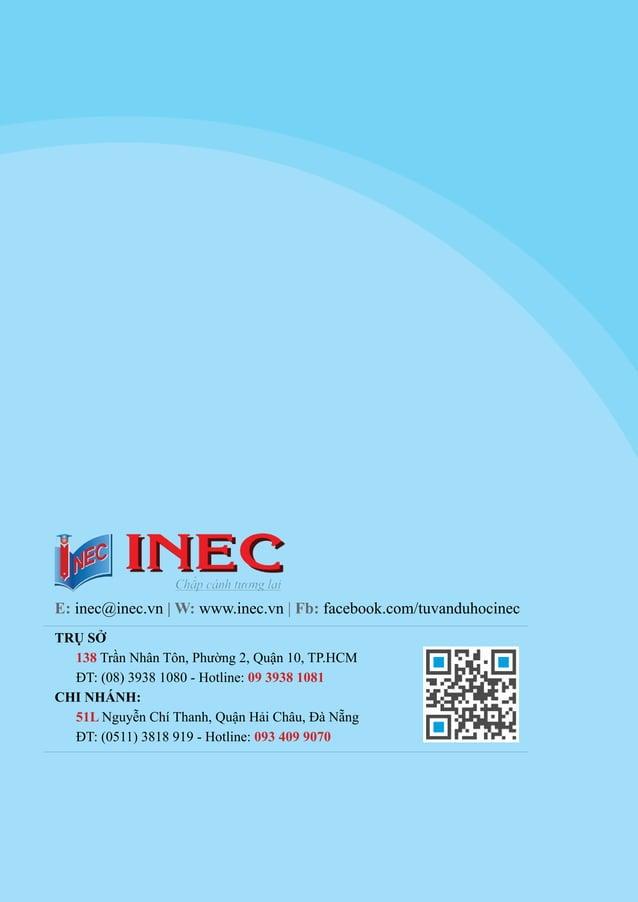 Thông tin du học các nước 2017 - INEC