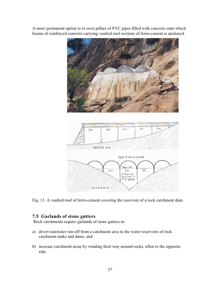 Kenya Water From Rock Outcrops A Handbook For Engineers